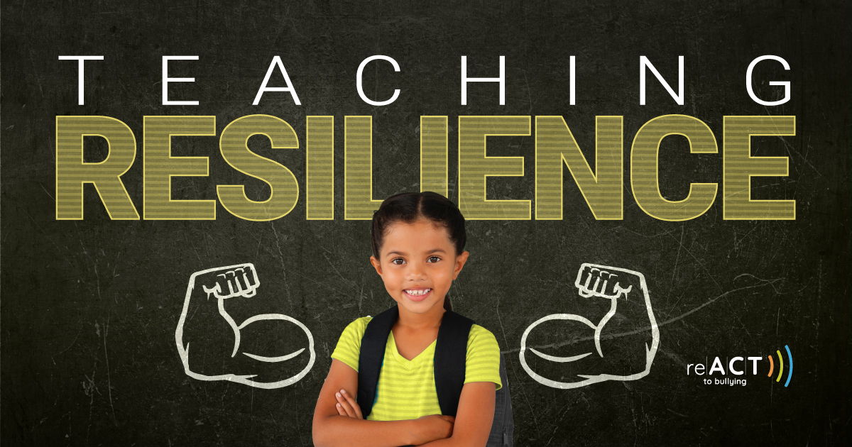 react to bullying teaching resilience