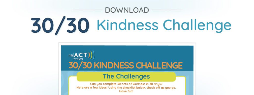 Take The ReACT 30 Kindness Challenge Download